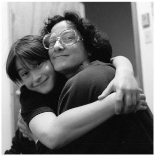 Jeannie - hug